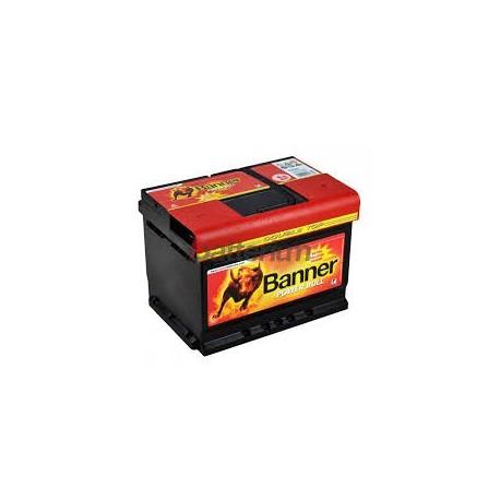 Batterie Banner PowerBull P6205 12 V 62Ah 540 EN