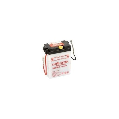 6N2-2A-4 Batterie moto 6V 4AH
