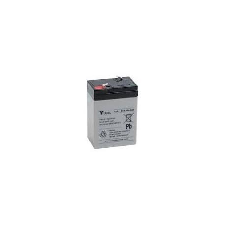 Batterie Y4-6 YUASA YUCEL 6V 4AH