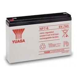 Batterie NP7-6 YUASA NP 6V 7AH
