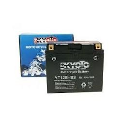 YT12B-4 Batterie moto 12V 8Ah (YT12B-BS)