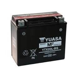 YTX20L-BS YUASA BATTERIE 12V 18Ah
