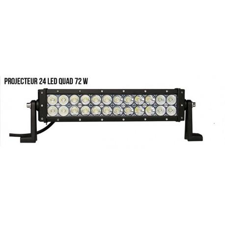 Projecteur 24 led Quad