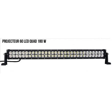 Projecteur 60 led Quad