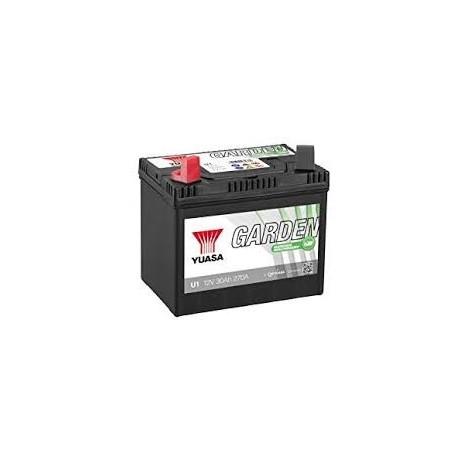 batterie motoculture batterie tondeuse yuasa u1r9 12v probatteries. Black Bedroom Furniture Sets. Home Design Ideas