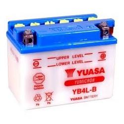 YB4L-B YUASA BATTERIE 12V 4AH