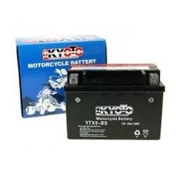 YTX9-BS Batterie moto 12V 8AH