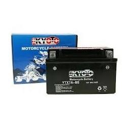YTX7A-BS Batterie moto 12V 6AH