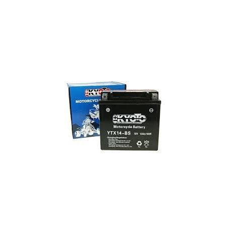 YTX14-BS Batterie moto 12V 12AH