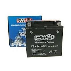 YTX14L-BS Batterie moto 12V 12AH