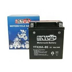 YTX20A-BS Batterie moto 12V 18Ah